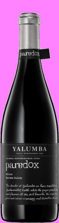 Paradox ShirazWine Bottle