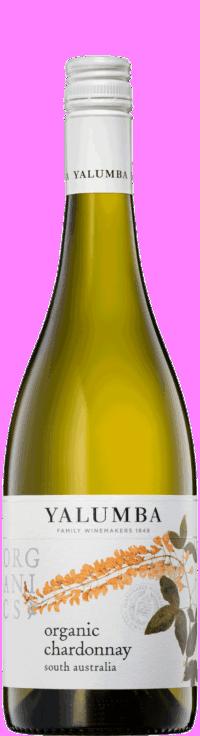 Organic ChardonnayWine Bottle