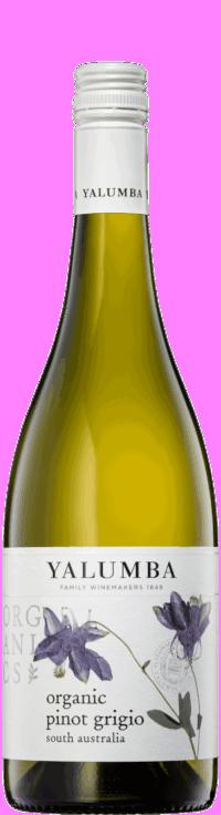 Organic Pinot GrigioWine Bottle